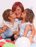 Loving family birthday Royalty Free Stock Images