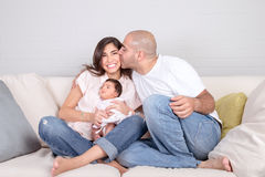 Loving family concept Royalty Free Stock Photo