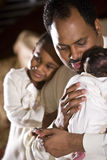 Loving family man Stock Photography
