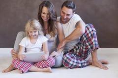 Loving family Stock Images