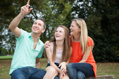 Loving Family Royalty Free Stock Image