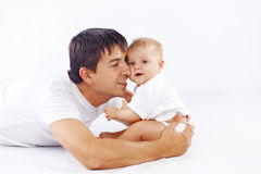 Loving father Royalty Free Stock Images