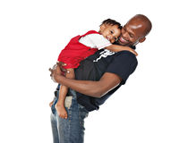 Loving father Royalty Free Stock Photo