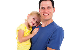 Loving father daughter Royalty Free Stock Photo