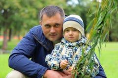 Loving father Stock Photo