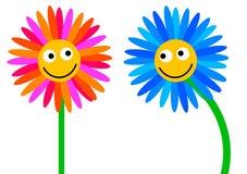 Loving flowers vector illustration