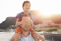 Loving fun father Royalty Free Stock Photography