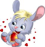 The loving hare Stock Image