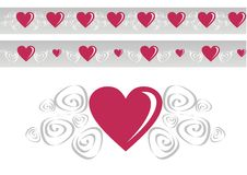 Loving heart stock photos