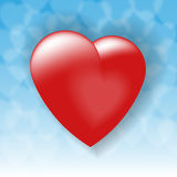 Loving heart Royalty Free Stock Photo