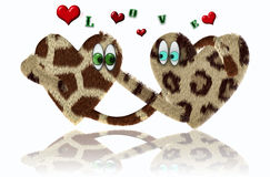 Loving hearts Stock Photo