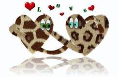Loving hearts Stock Photo