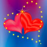 Loving Hearts Stock Photos