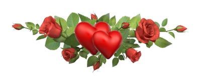 Loving hearts Royalty Free Stock Photos
