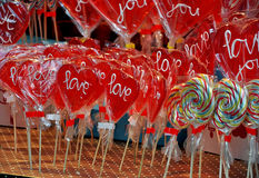 Loving hearts Stock Image