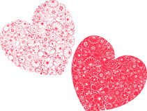 Loving hearts Royalty Free Stock Photography