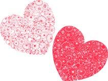 Loving hearts Royalty Free Stock Photography