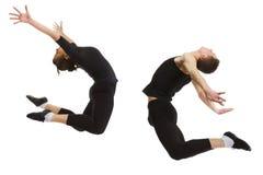 Loving jump Stock Photography