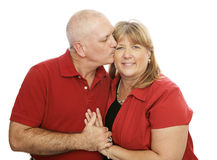 Loving Kisses Stock Photo