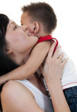 Loving Life with Kids Stock Photography