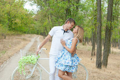 Loving man and woman Royalty Free Stock Photo