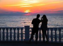 Loving man and woman royalty free stock photo
