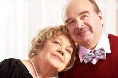 Loving mature couple Royalty Free Stock Photo