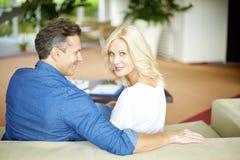 Loving mature couple Stock Photography