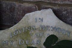 In loving memory Stock Image