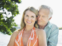 Loving Middle Aged Couple Royalty Free Stock Photo
