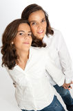 Loving mom and daughter portrait Stock Photography