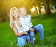 Loving mother Royalty Free Stock Photo