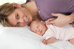 Loving mother Royalty Free Stock Images