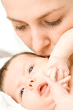 Loving mother with baby Stock Image