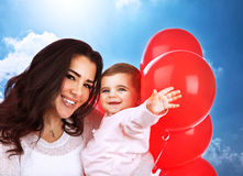 Loving mother with baby Royalty Free Stock Image