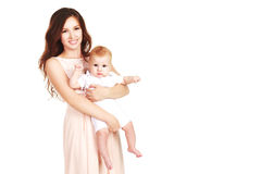Loving mother with a baby Stock Image