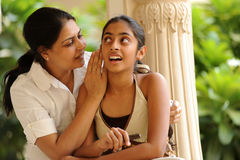 Loving mother with daughter Royalty Free Stock Photos