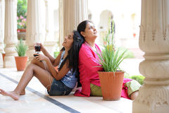 Loving mother with daughter Stock Photos