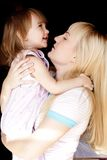 Loving mother and daughter Royalty Free Stock Photos