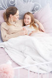 Loving mother with daughter Royalty Free Stock Image