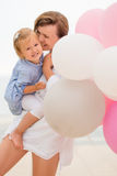 Loving mother and her small daughter Stock Photography