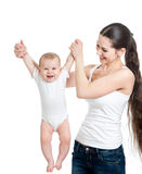 Loving mother playing with child Royalty Free Stock Photo