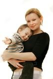 Loving mother and son Royalty Free Stock Image