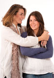 Loving mother with teenage daughter Royalty Free Stock Photos