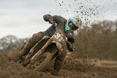 Loving the mud Stock Photo