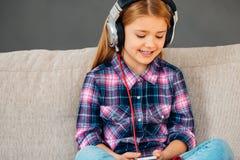 Loving music. Stock Image
