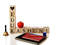Loving (and Needing) Education Royalty Free Stock Image