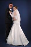 Loving newlyweds Stock Photos