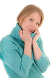 Loving nice young woman Stock Photography