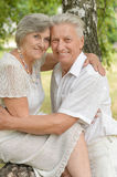 Loving old couple Royalty Free Stock Photos